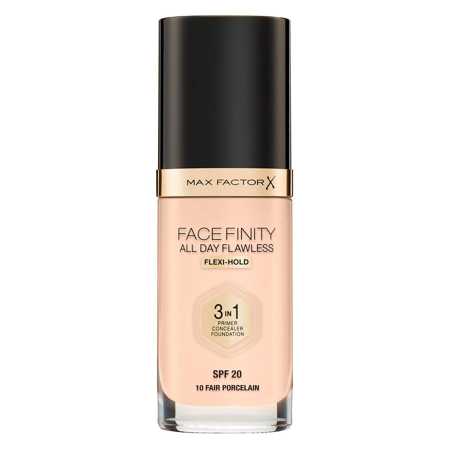 Max Factor Facefinity All Day Flawless 3-in-1 Foundation 30 ml – 10 Fair