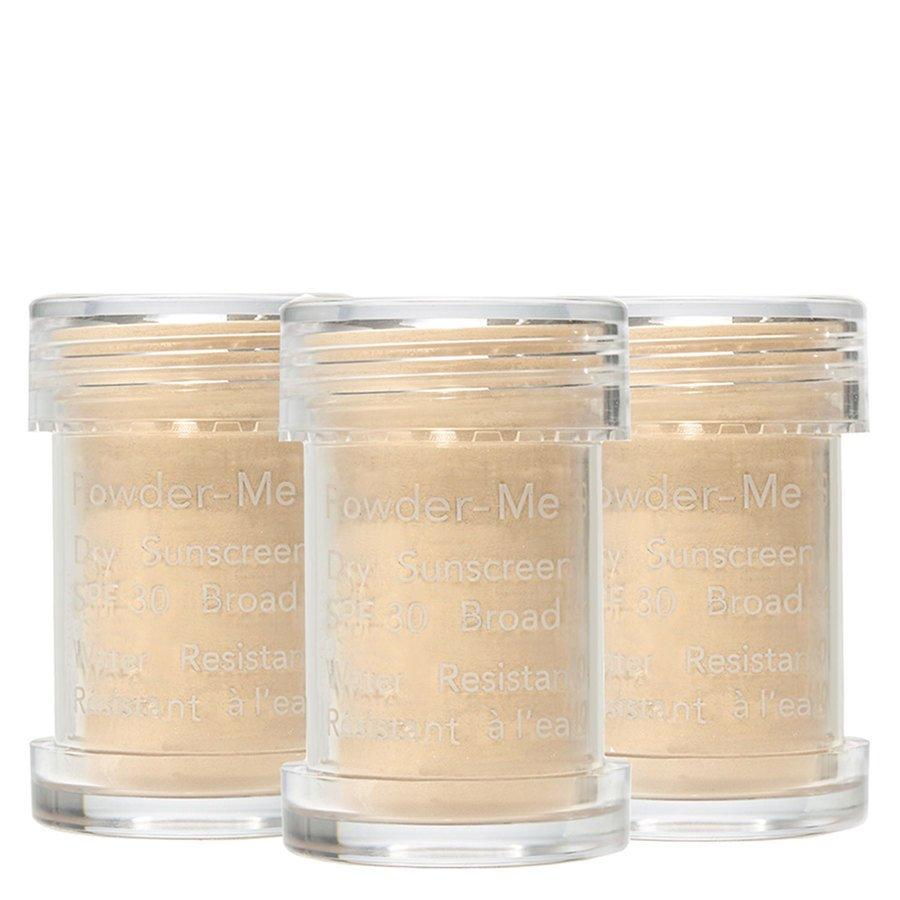 Jane Iredale Powder-Me Dry Sunscreen SPF 30 Golden Refill 3 x 2,5 g