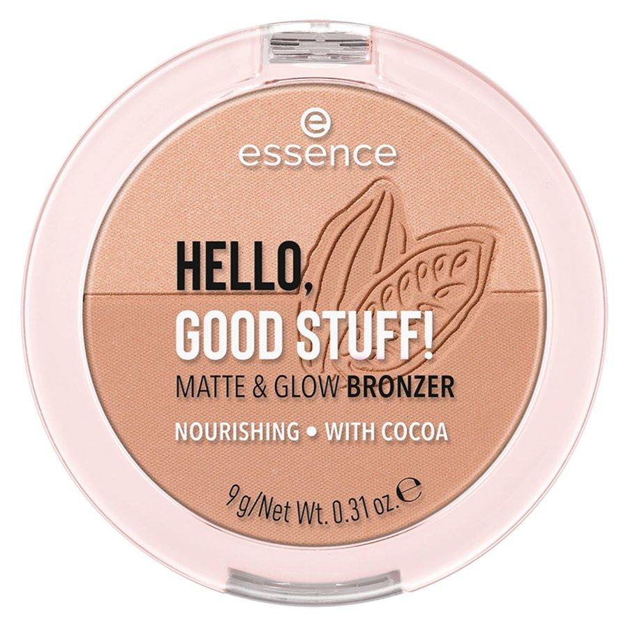 essence Hello Good Stuff Matte & Glow Bronzer 9 g – 10