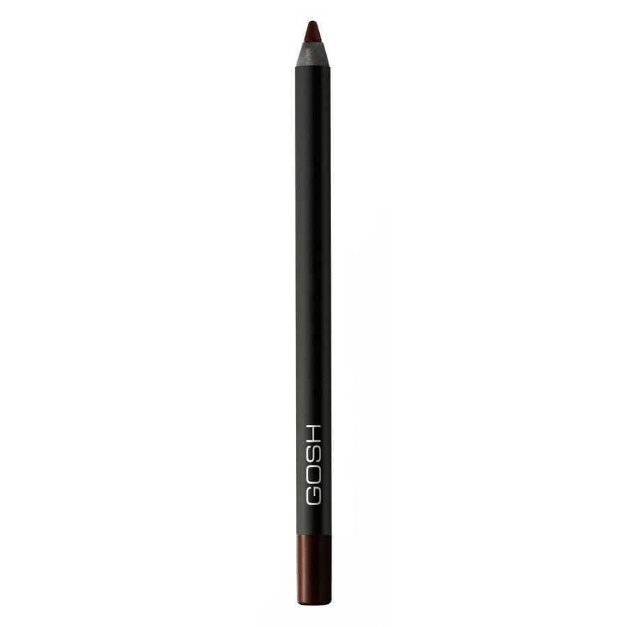 GOSH Velvet Touch Eye Liner Waterproof 1,2 g ─ Truly Brown