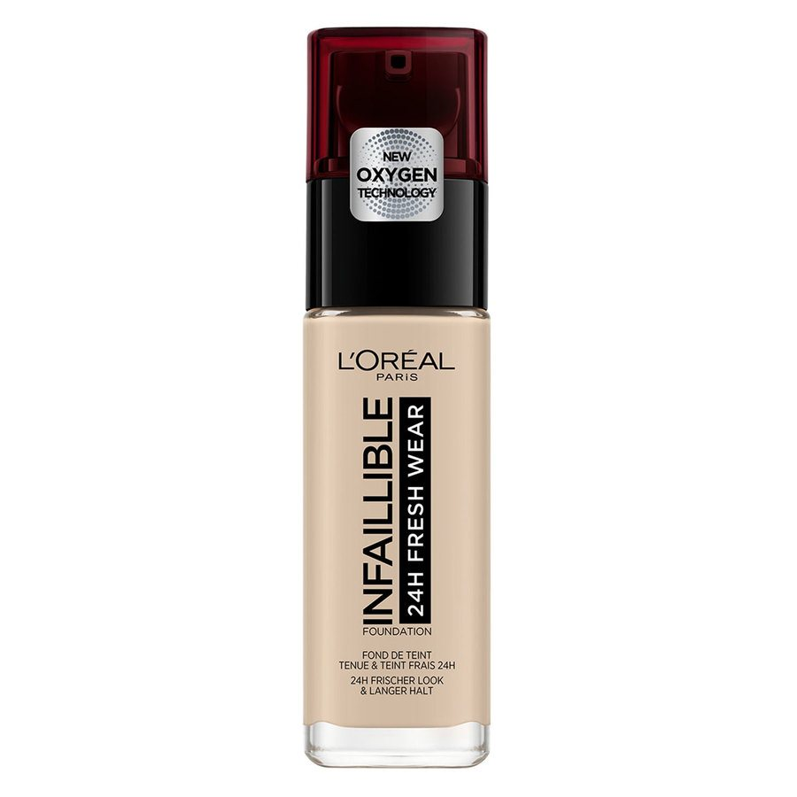 L'Oréal Paris Infaillible 24H Fresh Wear Foundation 30 ml - #015 Porcelaine