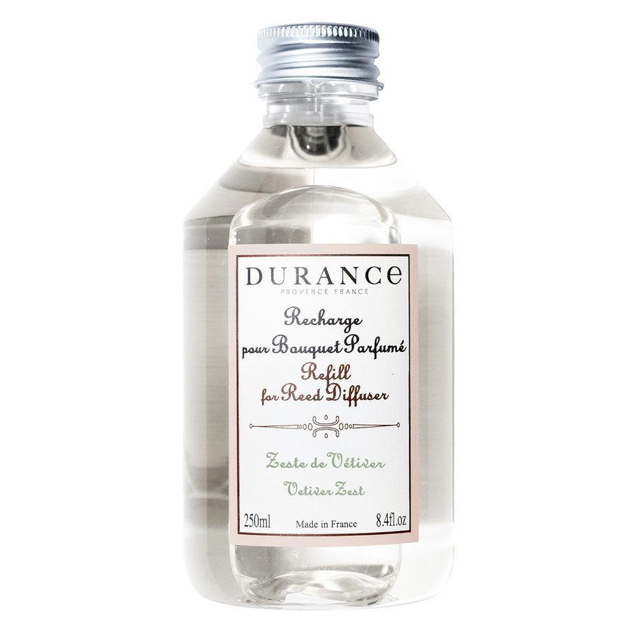 Durance Refill For Reed Diffuser 250 ml – Vetiver Zest