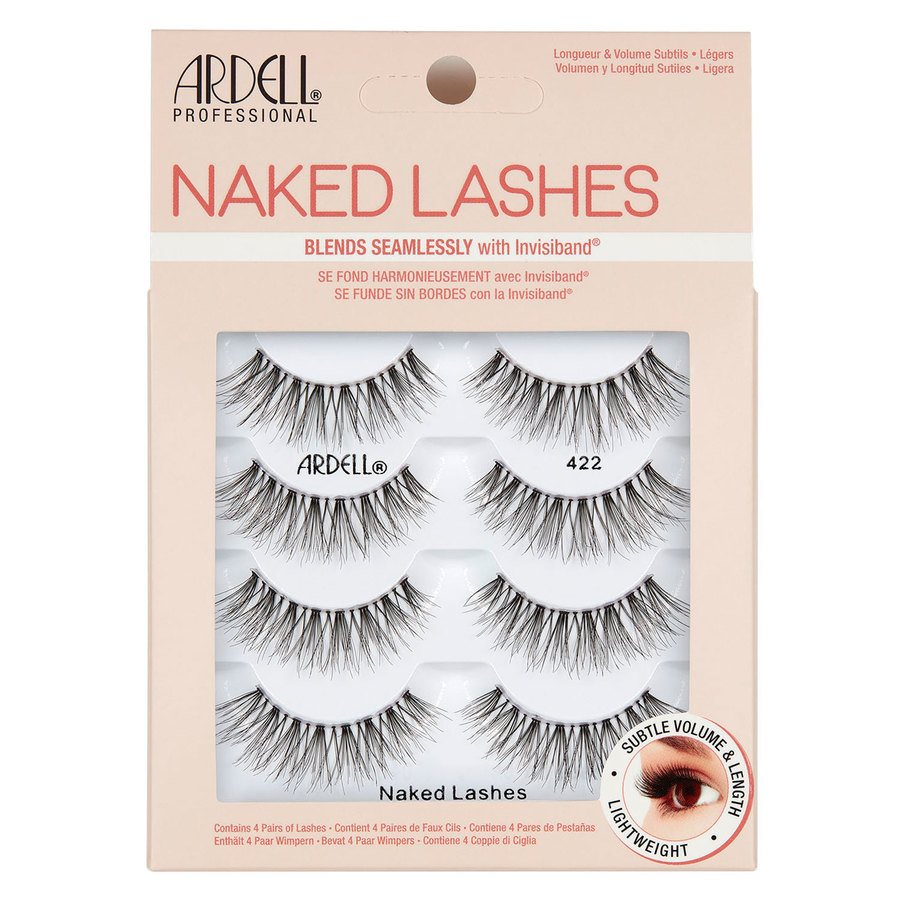 Ardell Naked Lashes 422 4 kpl