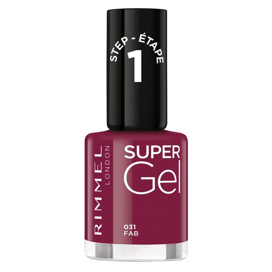 Rimmel London Super Gel Nail Polish 12 ml – 031