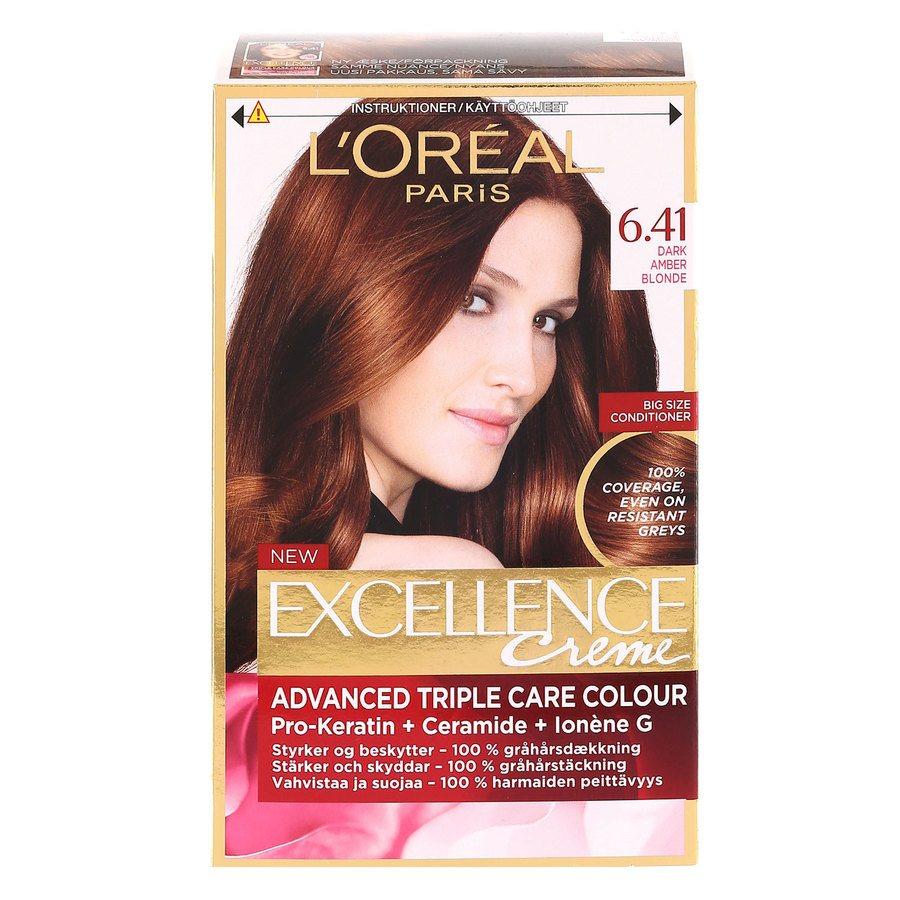 L'Oréal Paris Excellence Creme - 6,41 Noisette