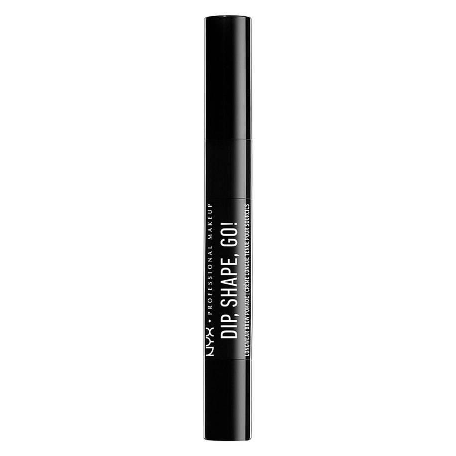 NYX Professional Makeup Dip, Shape, Go! Longwear Brow Pomade 1,2 g – Chocolate