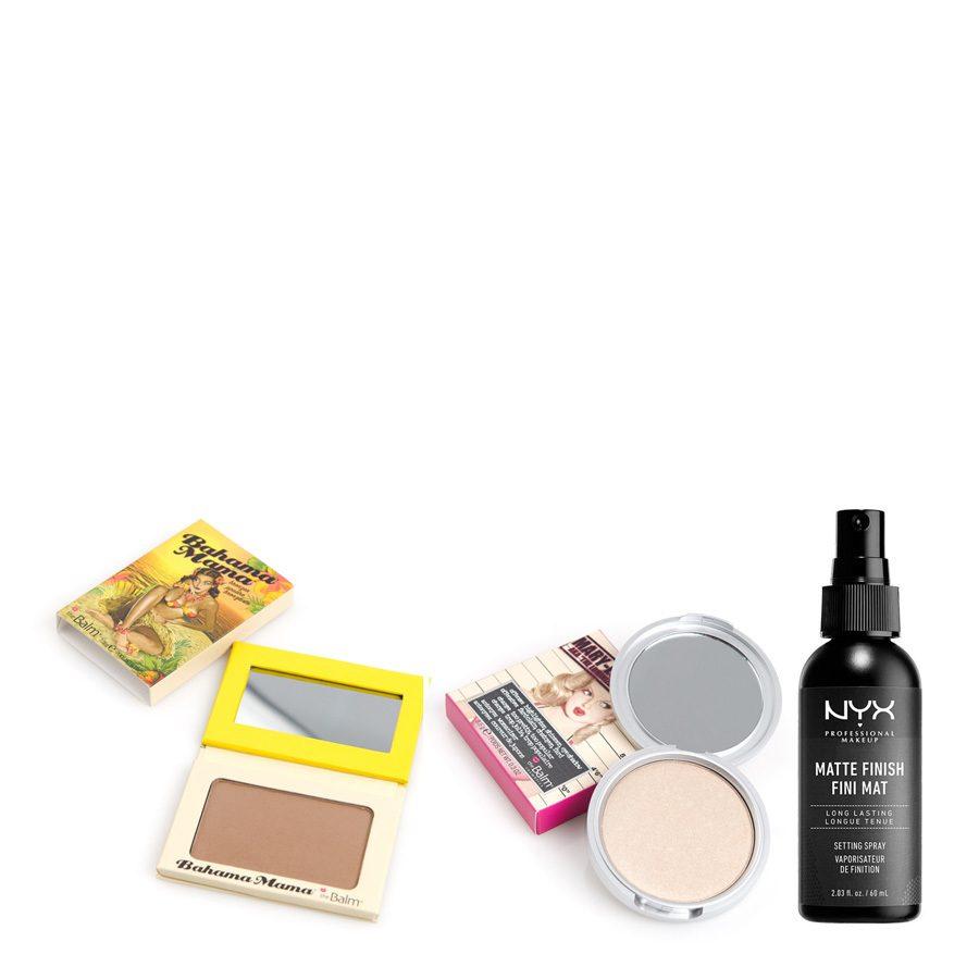 Pakettidiili theBalm & NYX Prof. Makeup