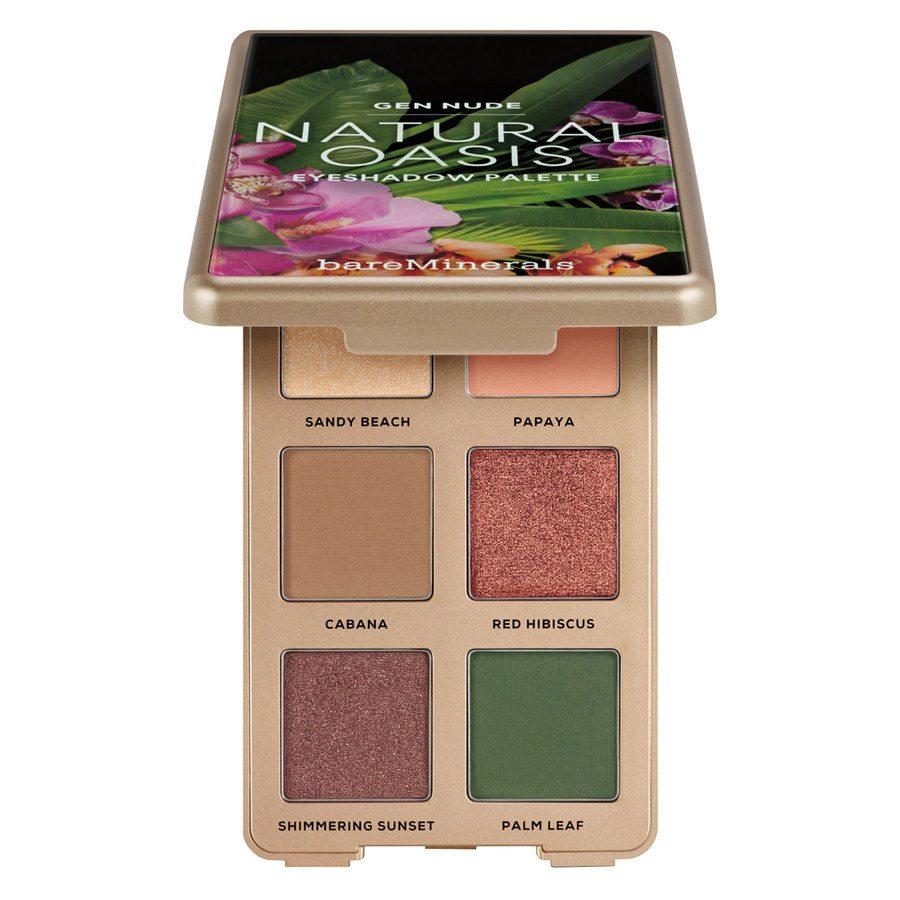 BareMinerals Gen Nude Eyeshadow Palette 1,19 g – Natural Oasis