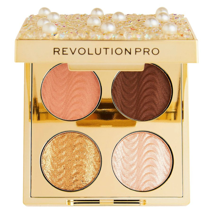 Makeup Revolution Pro Ultimate Eye Look Diamonds and Pearls Palette 4 x 0,8 g