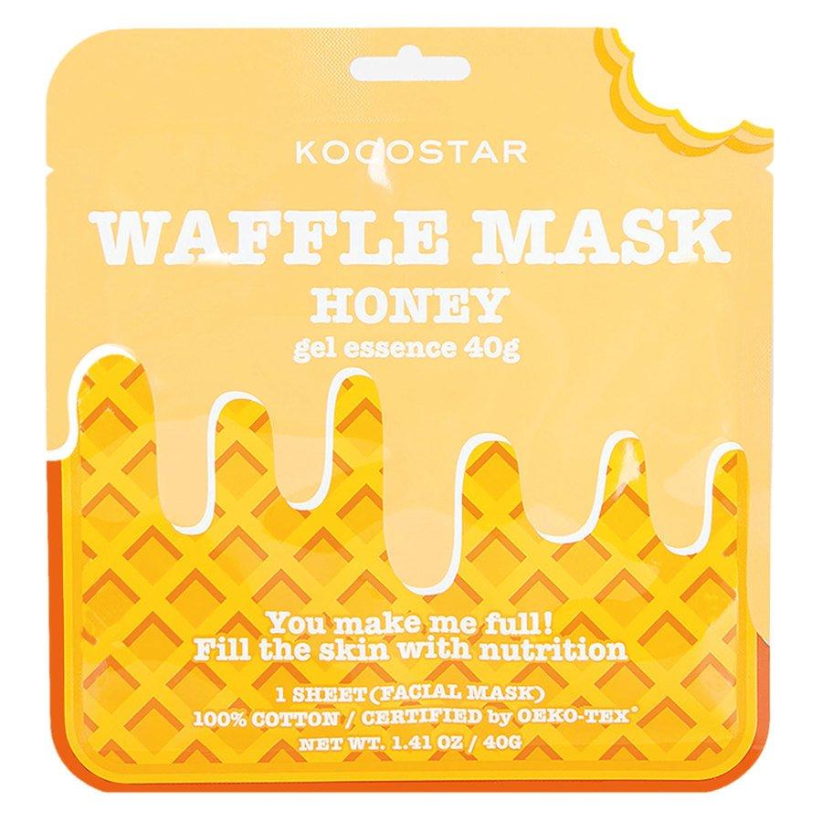 Kocostar Waffle Mask 40 g ─ Honey