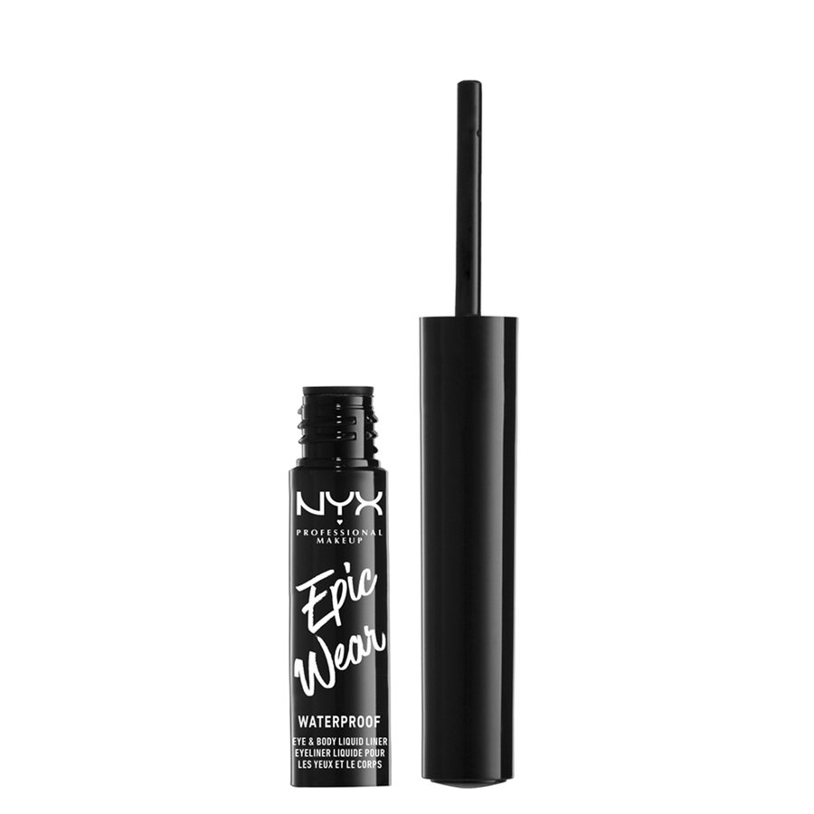 NYX Professional Makeup Epic Wear Semi Permanent Eye & Body Liquid Liner 1 ml – White