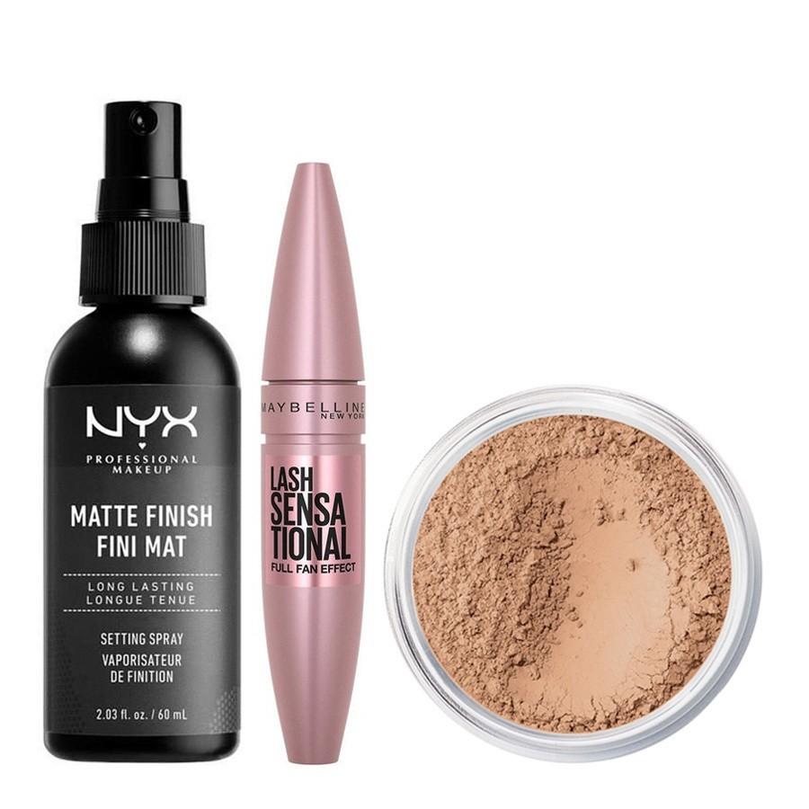 Pakettidiili bareMinerals, NYX Prof. Makeup & Maybelline