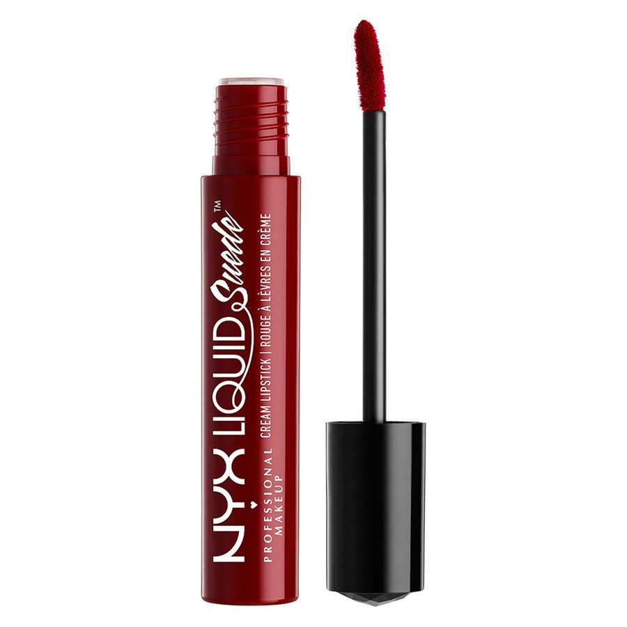 NYX Professional Makeup Liquid Suede Cream Lipstick – Cherry Skies 4ml