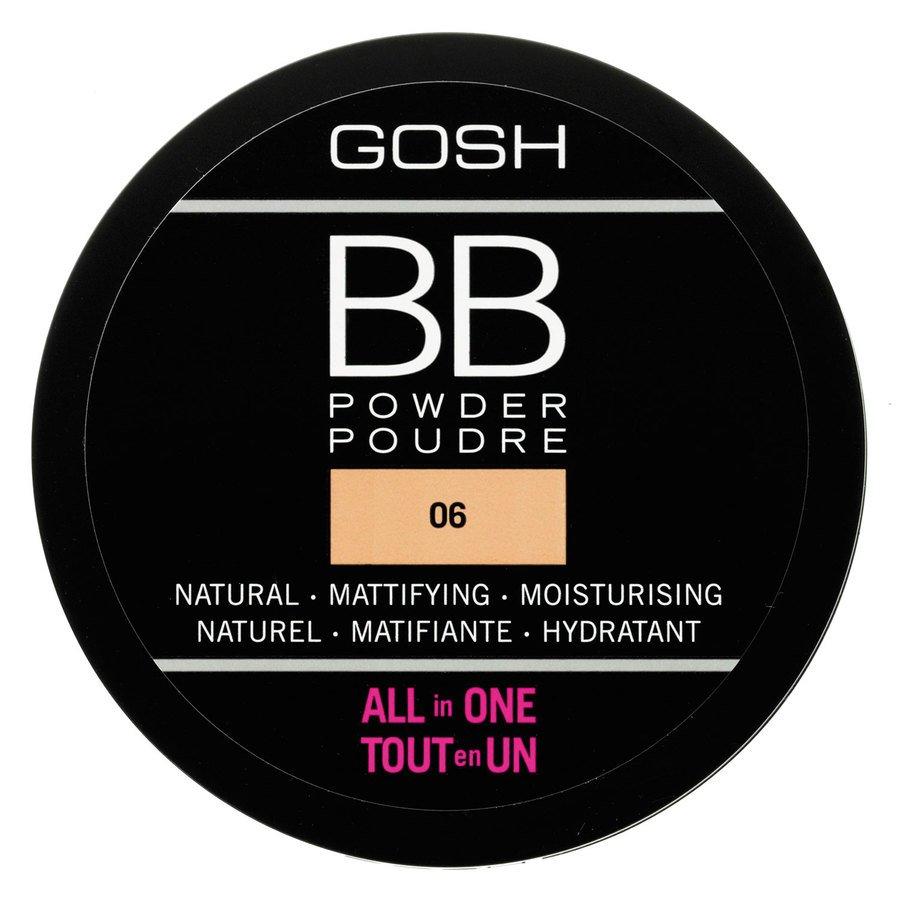 GOSH BB Powder 6,5 g ─ #006 Warm Beige