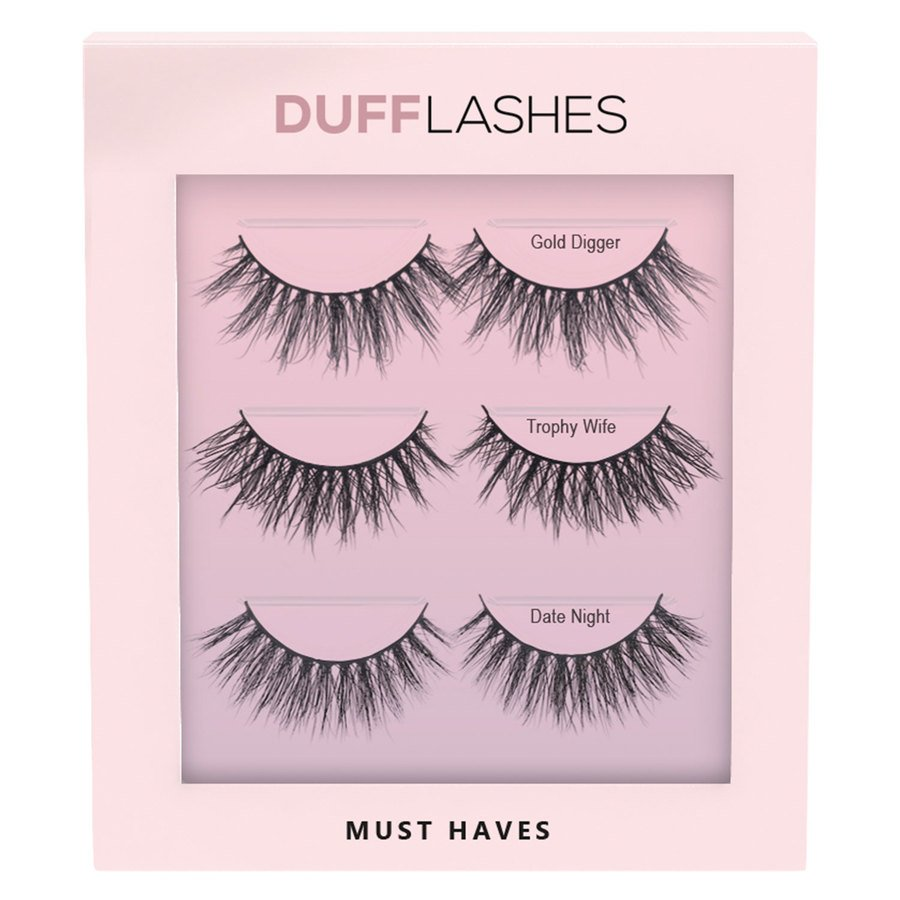 DUFFBeauty Must Haves 3 kpl