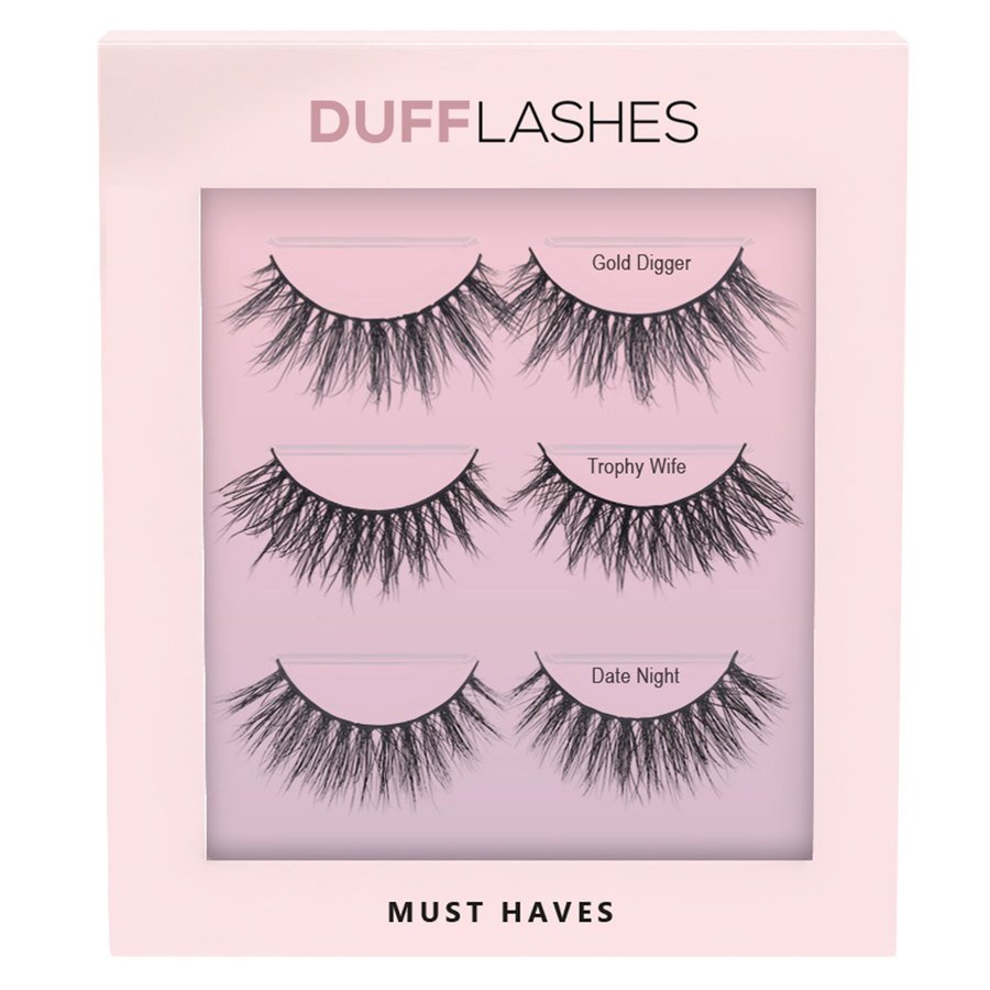 DUFFLashes Must Haves 3 kpl