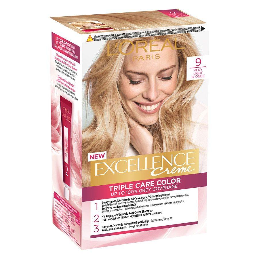 L'Oréal Paris Excellence Creme - 9 Extra Light Blonde
