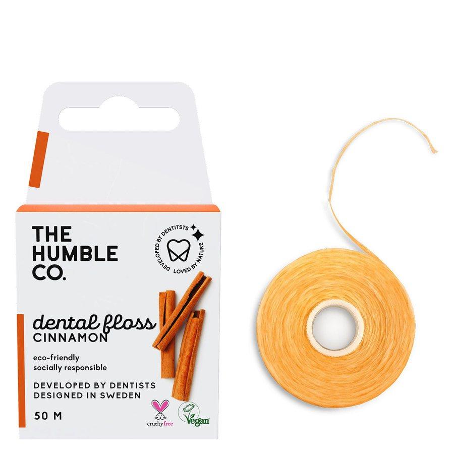 The Humble Co Dental Floss 50 m – Cinnamon