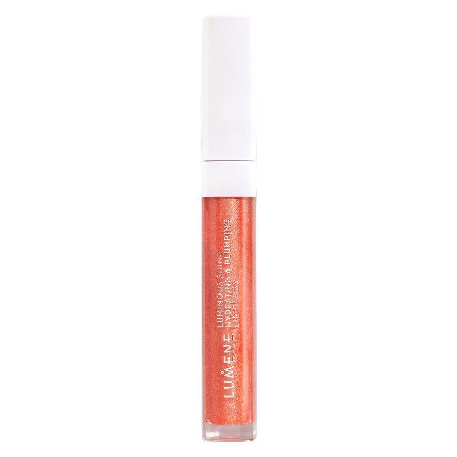 Lumene Luminous Shine Hydrating & Plumping Lip Gloss 5 ml – 3 Fresh Peach