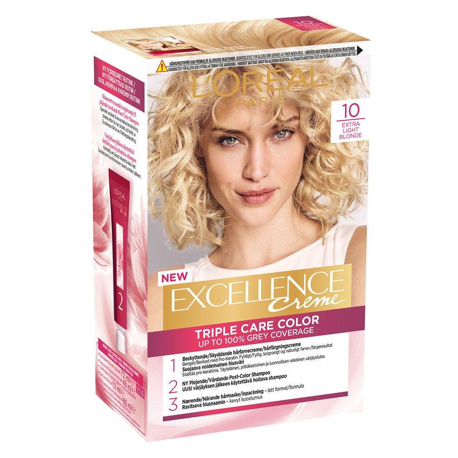 L'Oréal Paris Excellence Creme - 10 Extra Light Blonde