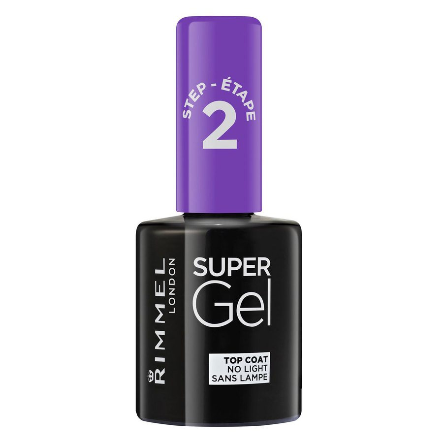 Rimmel London Super Gel Top Coat 12 ml ─ Transparent