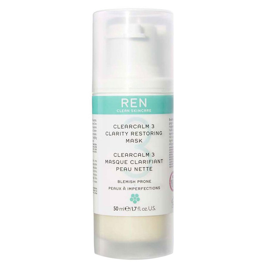REN Clean Skincare Clearcalm 3 Clarity Restoring Mask 50 ml