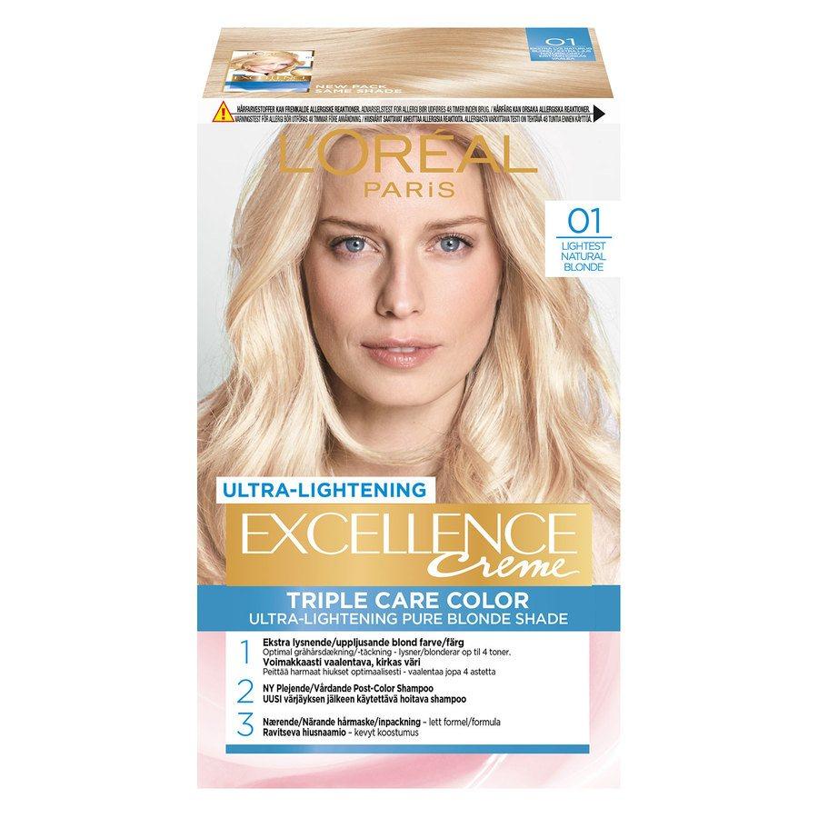 L'Oréal Paris Excellence Creme - 01 Blonde Supreme Natural