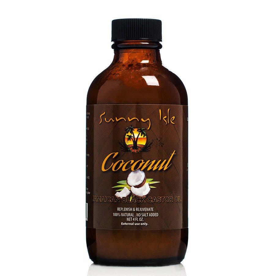 Sunny Isle Coconut Jamaican Black Castor Oil - 118 ml