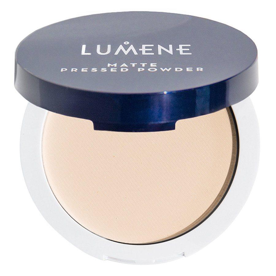Lumene Matte Pressed Powder 10 g - Translucent