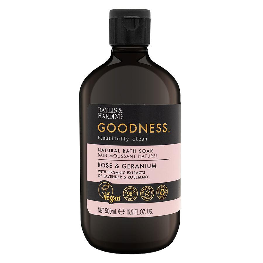 Baylis & Harding Goodness Rose & Geranium Bath Soak 500 ml