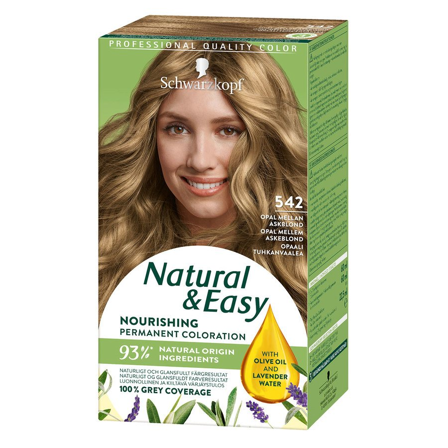 Schwarzkopf Natural & Easy ─ 542 Opal Medium Ashblond