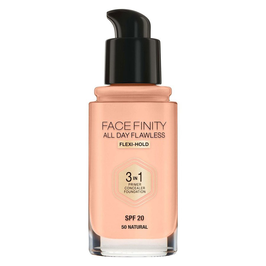 Max Factor Facefinity All Day Flawless 3-in-1 Foundation 30 ml – 50 Natural