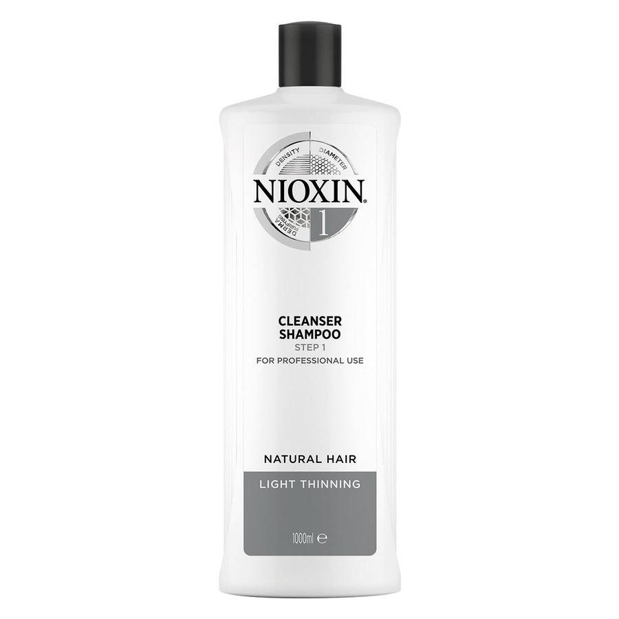 Nioxin System 1 Cleanser Shampoo 1 000 ml