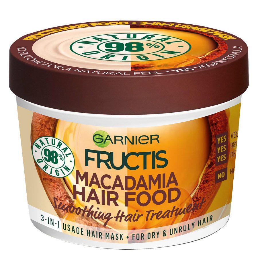 Garnier Fructis Hair Food Mask 390 ml ─ Macadamia