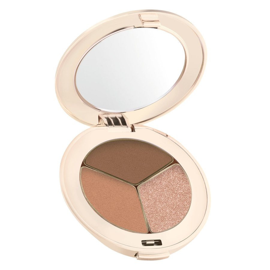 Jane Iredale PurePressed Triple Eye Shadow – Triple Cognac 2,8g