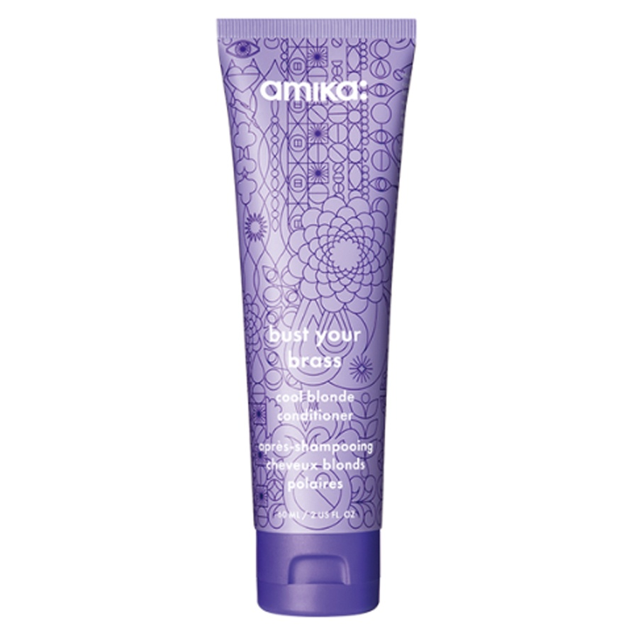 Amika Bust Your Brass Cool Blonde Conditioner 60 ml
