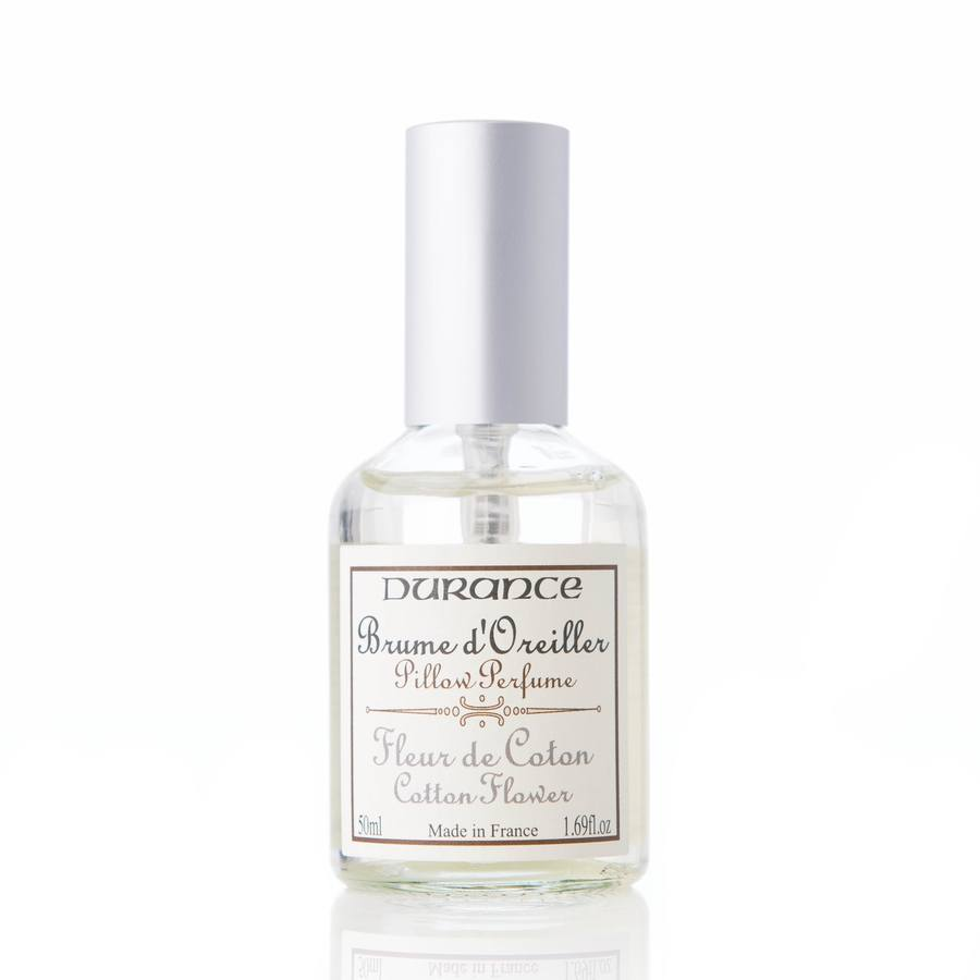Durance Pillow Perfume 50 ml ─ Cotton Flower
