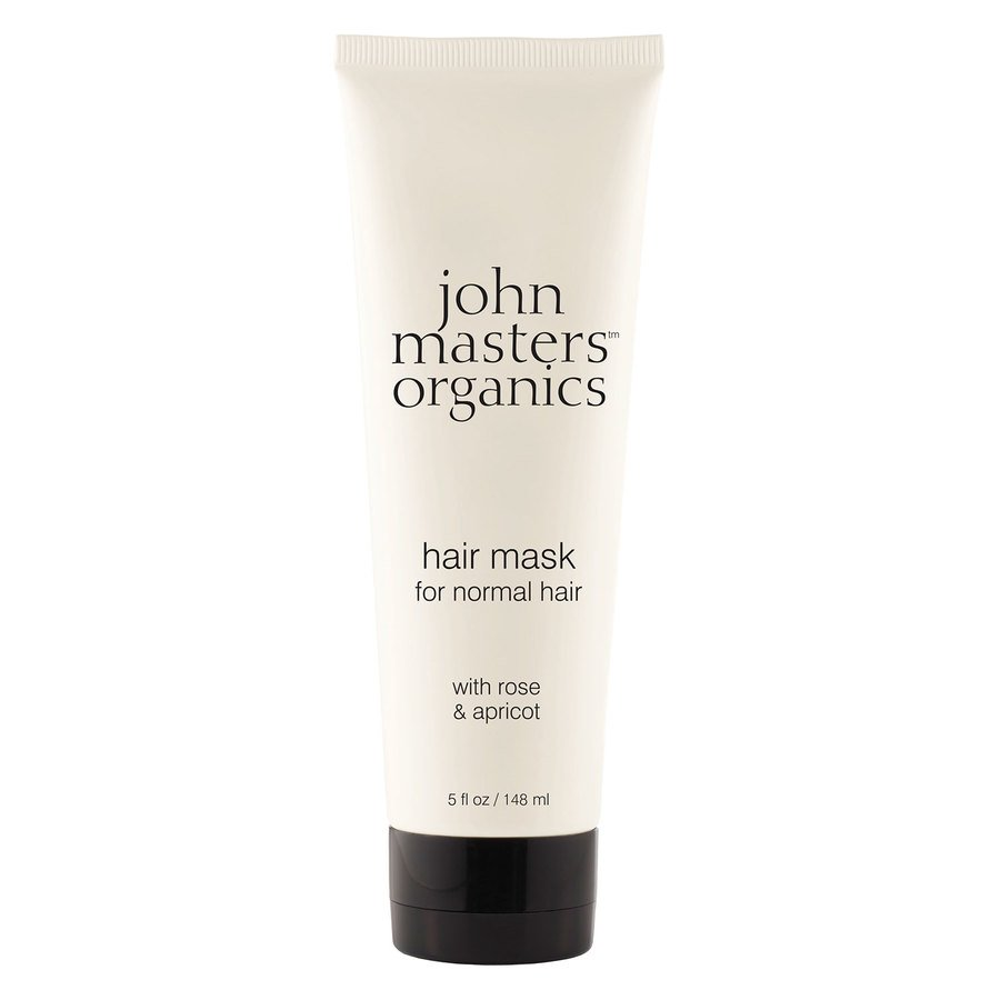 John Masters Organics Hair Mask For Normal Hair With Rose And Apricot 148 ml