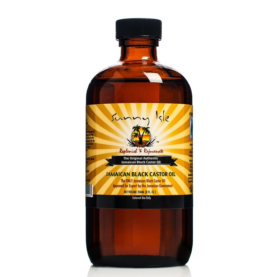 Sunny Isle Jamaican Black Regular Castor Oil -  236 ml