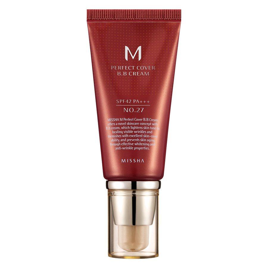 Missha M Perfect Cover BB Cream SPF 42 PA+++ 50 ml – 27 Honey Beige