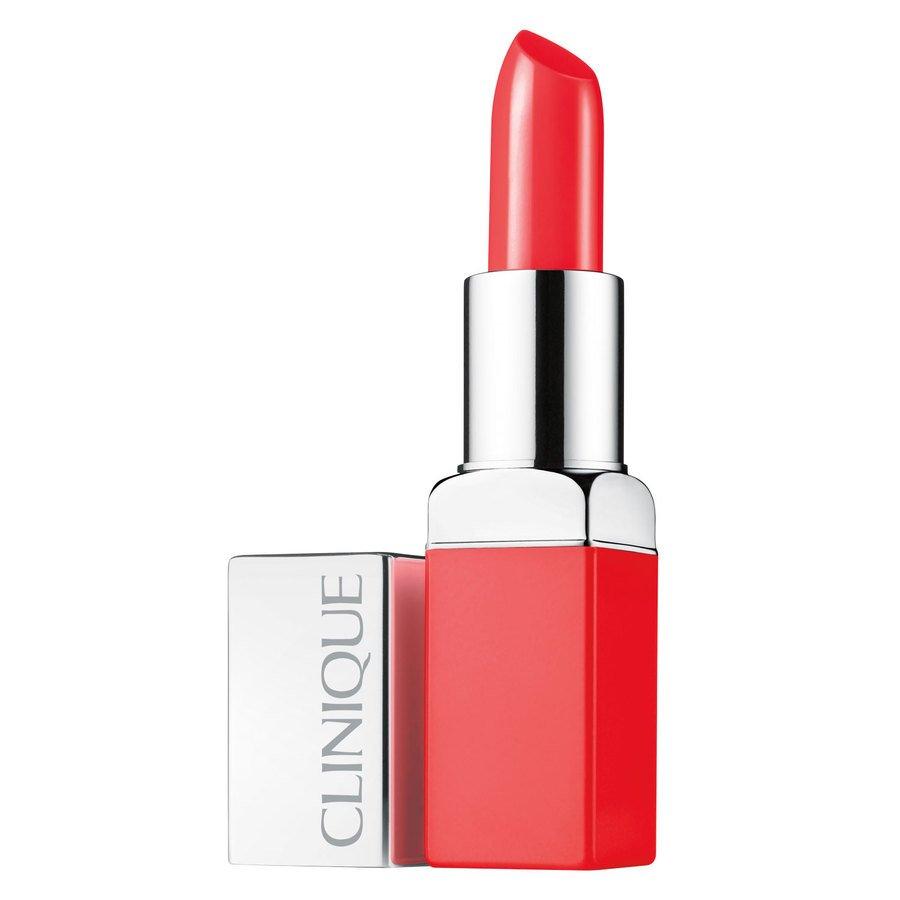 Clinique Pop Lip Colour + Primer 3,9 g ─ Poppy Pop