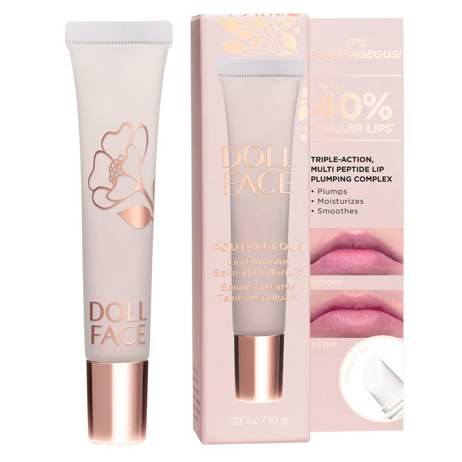 Doll Face Poutrageous Lip Plumping Balm With MaxiLip 9,8 ml ─ Clear