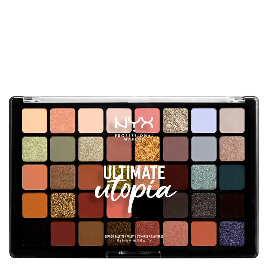 NYX Professional Makeup Ultimate Utopia Shadow Palette 40 x 1 g