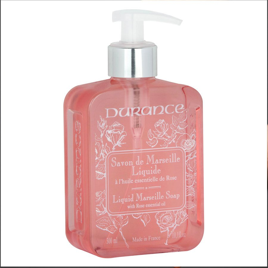 Durance Liquid Marseille Soap With Rose 300 ml