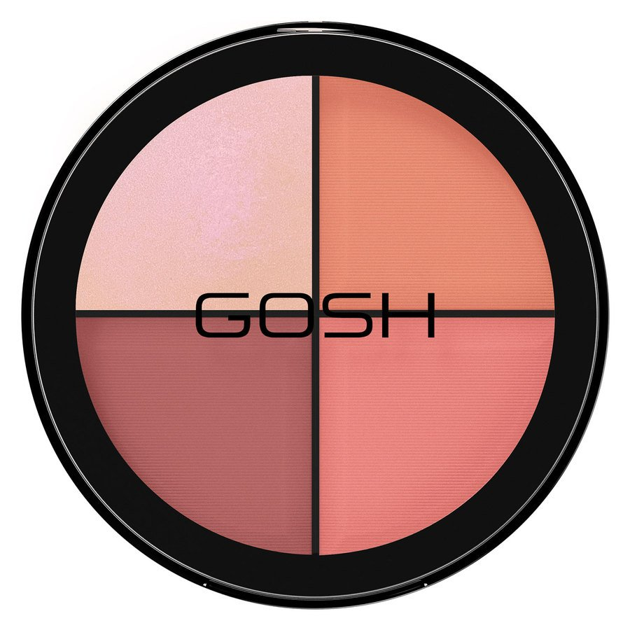 GOSH Strobe'n Glow Kit 20 g ─ #002 Blush