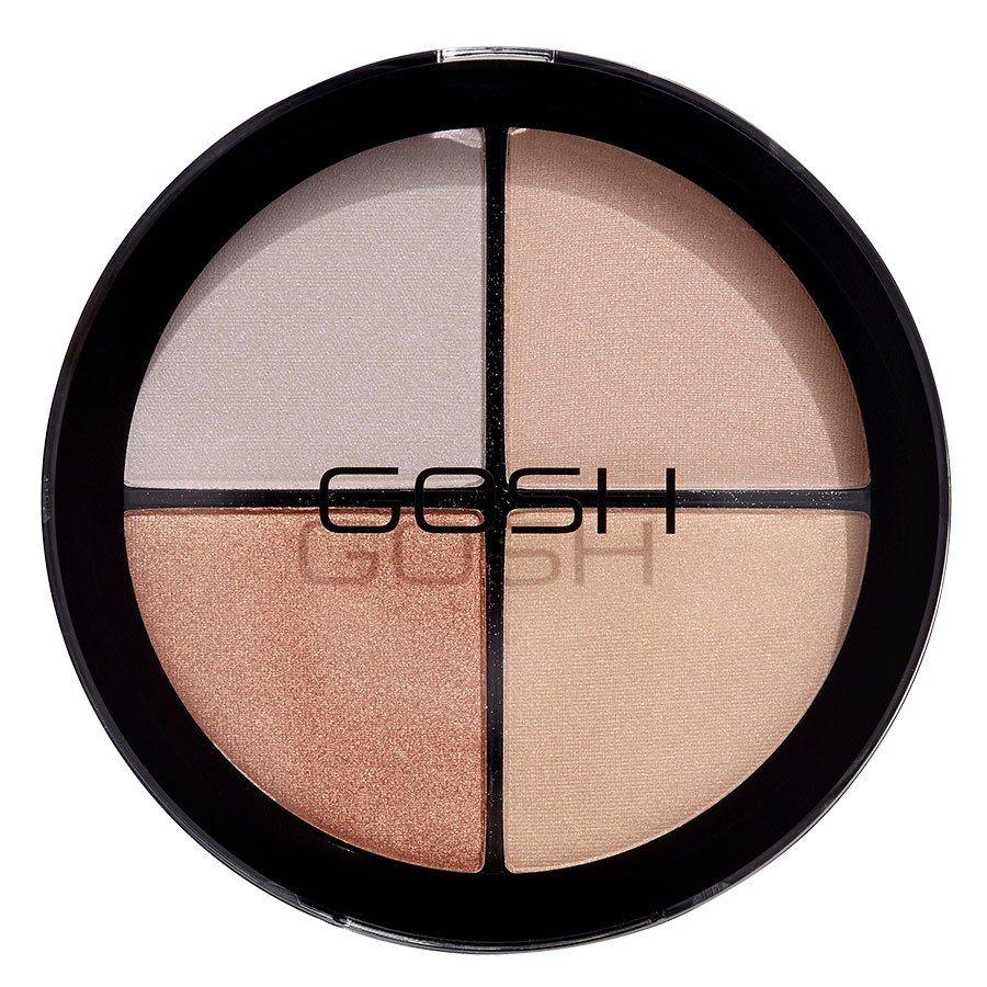 GOSH Strobe'n Glow Kit 20 g ─ #002 Blush