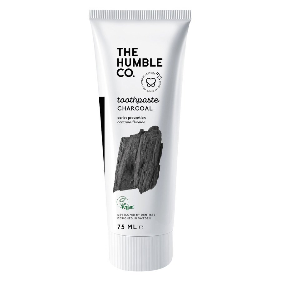 The Humble Co Humble Natural Toothpaste 75 ml – Charcoal