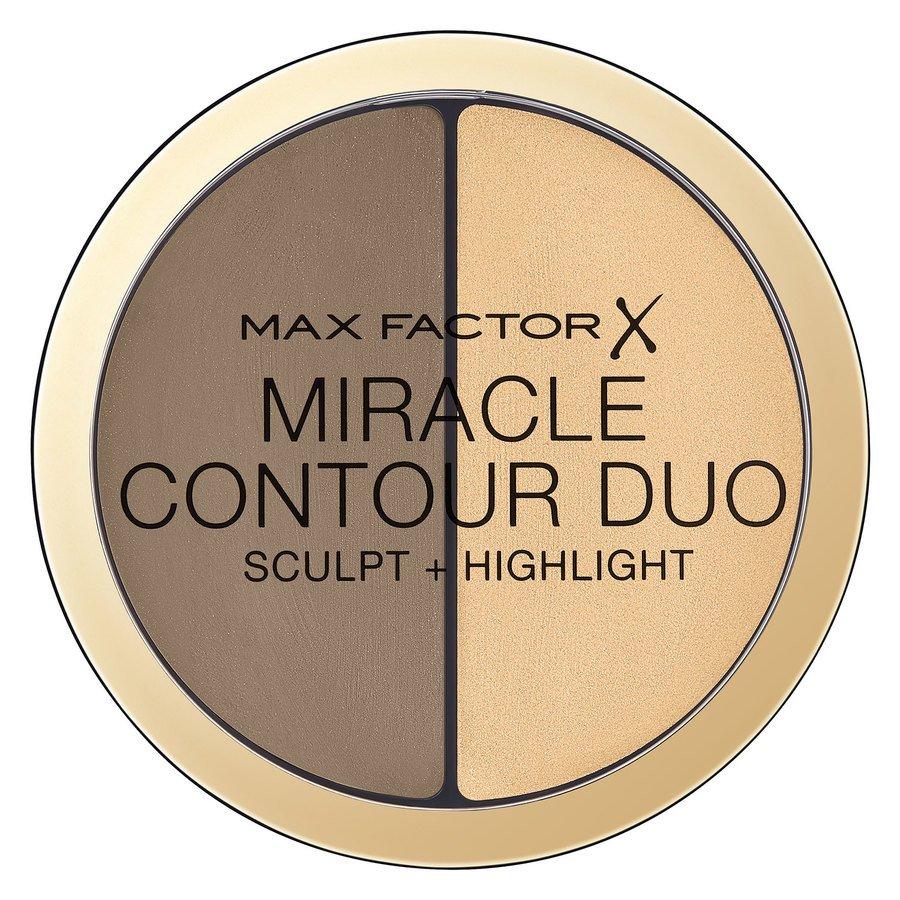 Max Factor Miracle Contour Duo 8 g ─ Light/Medium