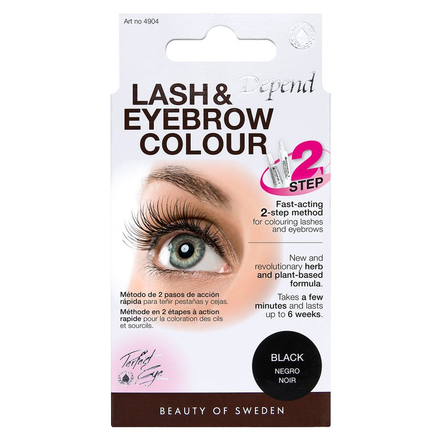 Depend Lash And Eyebrow Colour - Black