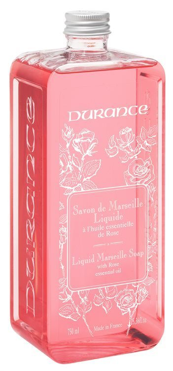 Durance Liquid Marseille Soap With Rose Refill 750 ml